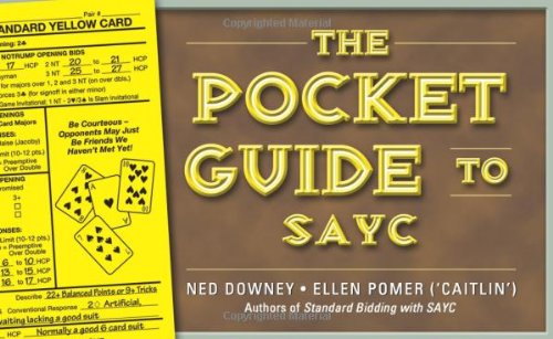 The Pocket Guide to Sayc 9781897106624