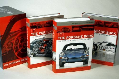 The Porsche Book 3 Volume Set: The Complete History of Types and Models 9781893618930