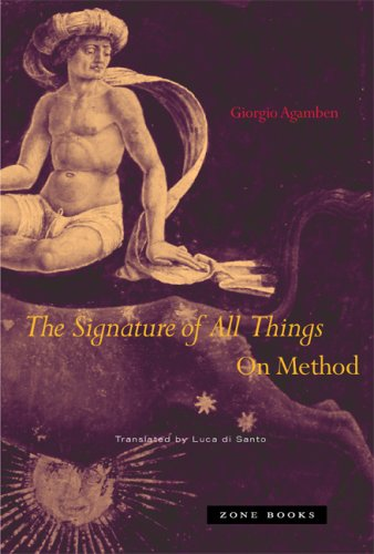 The Signature of All Things: On Method 9781890951986