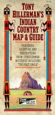 Tony Hillerman's Indian Country Map and Guide 9781892040015