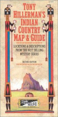 Tony Hillerman's Indian Country Map and Guide 9781892040107