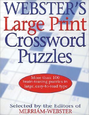 Webster's Large Print Crossword Puzzles: Webster's Challenging Large Print Crossword Puzzles 9781892859921
