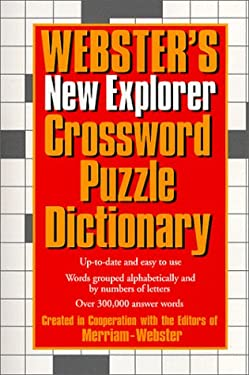 Webster's New Explorer Crossword Puzzle Dictionary 9781892859037