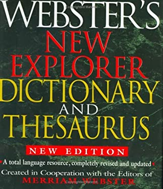 Webster's New Explorer Dictionary and Thesaurus 9781892859785