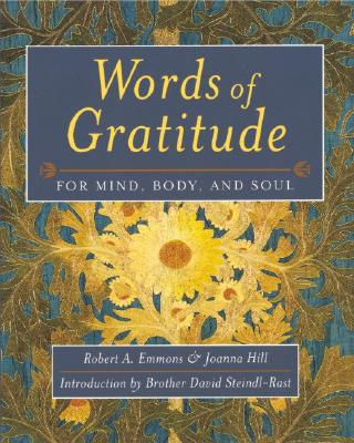 Words of Gratitude Mind Body & Soul 9781890151553