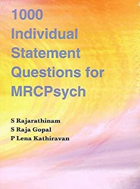 1000 Individual Statement Questions for Mrcpsych 9781904798873