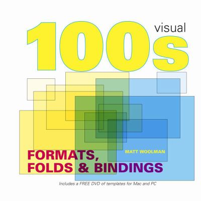 100s Visual Ideas Formats, Folds & Bindings [With DVD] 9781906245078