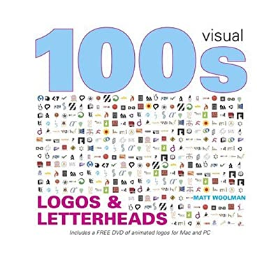 100s Visual Ideas Logos & Letterheads [With DVD] 9781906245047