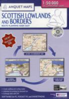 ANQUET SCOTTISH LOWLANDS BORDERS 150000 9781905120895