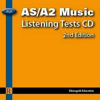 Philip Taylor: AQA As/A2 Music Listening Tests - Audio CD (2nd Edition) 9781906178413