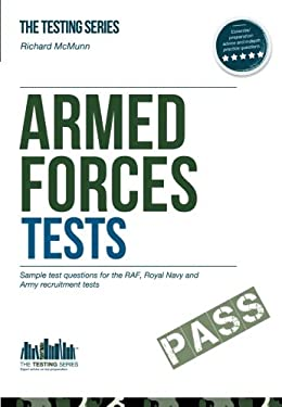 Armed Forces Tests (practice Tests for the Army, RAF and Royal Navy) 9781907558092