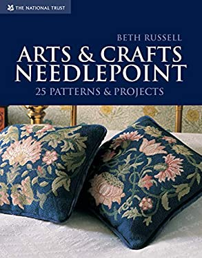 Arts & Crafts Needlepoint: 25 Patterns & Projects 9781905400805