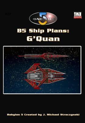 Babylon 5: Ship Plan - G'Quan 9781905176168