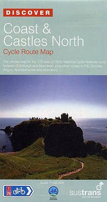 Coast and Castles North - Sustrans Cycle Routes Map: Sustrans Official Cycle Route Map and Information Covering the 172 Mile National Cycle Network Ro 9781901389753