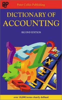 Dictionary of Accounting 9781901659856