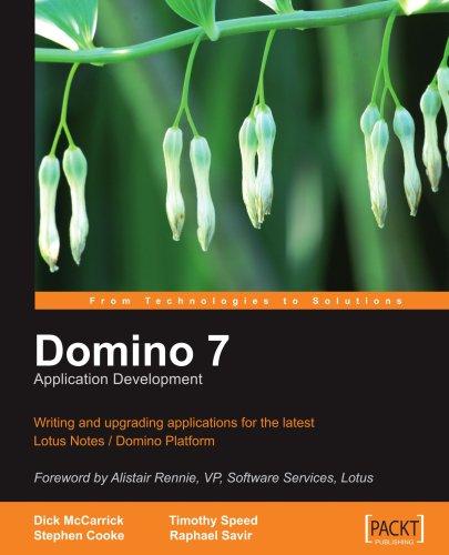 Domino 7 Lotus Notes Application Development 9781904811060