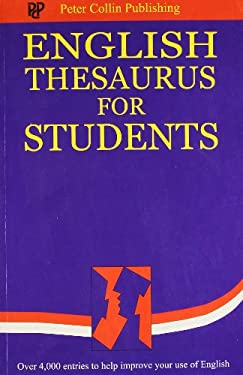 English Thesaurus for Students 9781901659313
