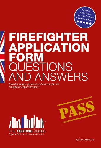 Firefighter Application Form Questions and Answers 9781907558696