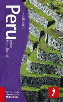 Footprint Peru Handbook 9781907263279