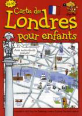 Guy Fox Carte de Londres Pour les Enfants: London Children's Map French Edition 9781904711155