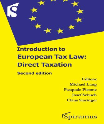 Introduction to European Tax Law: Direct Taxation 9781907444111