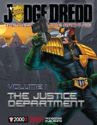 Judge Dredd: The Mega-City One Archives: The Justice Department 9781906508883