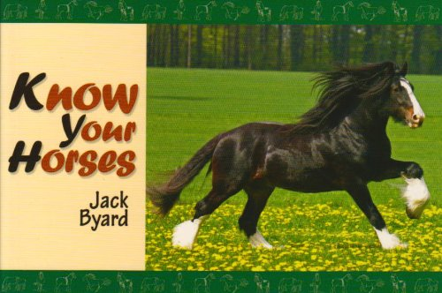 Know Your Horses 9781906853013
