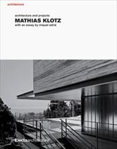 Mathias Klotz: Architecture and Projects 7751960