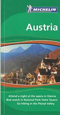 Michelin Green Guide Austria 9781906261504