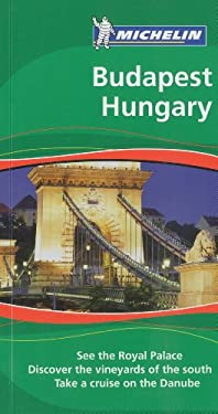 Michelin Green Guide Budapest Hungary 9781906261184