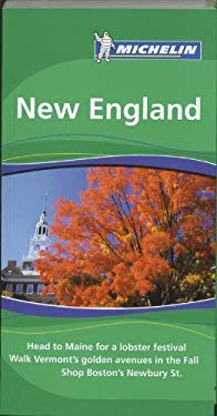 Michelin Travel Guide New England 9781906261351