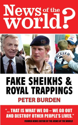 News of the World?: Fake Shiekhs and Royal Trappings 9781903070727