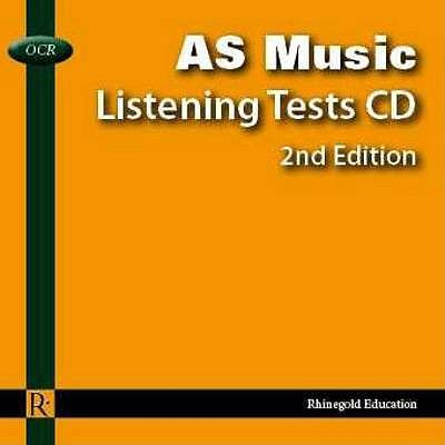 OCR AS Music Listening Tests 9781906178437