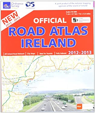 Official Road Atlas Ireland 2012-2013