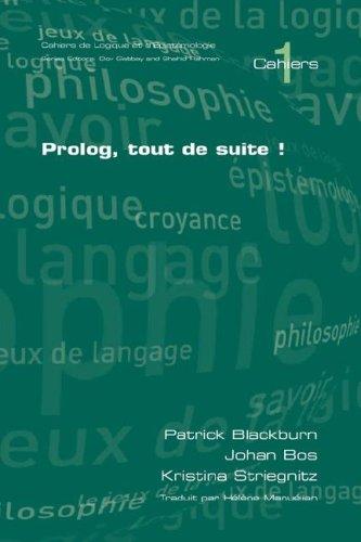 PROLOG, Tout de Suite! 9781904987529