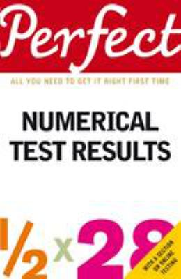 Perfect Numerical Test Results 9781905211333
