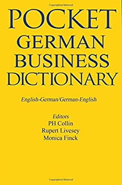 Pocket Business German Dictionary 9781901659948