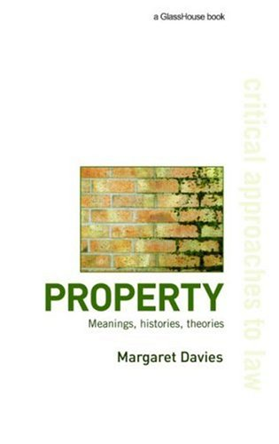 Property: Meanings, Histories, Theories