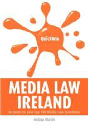 Quick Win Media Law Ireland 9781904887461