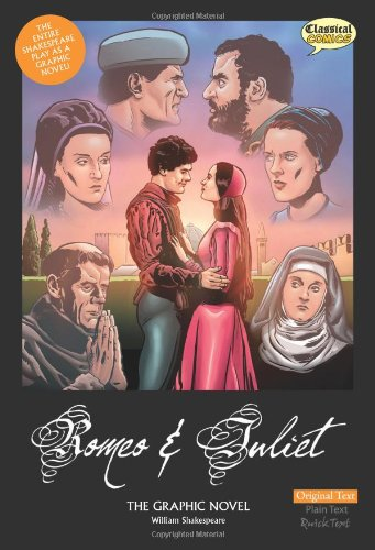 Romeo and Juliet the Graphic Novel: Original Text 9781906332617