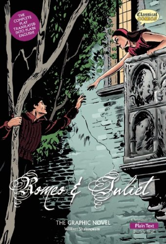 Romeo and Juliet the Graphic Novel: Plain Text 9781906332624