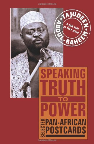 Speaking Truth to Power: Selected Pan-African Postcards 9781906387853