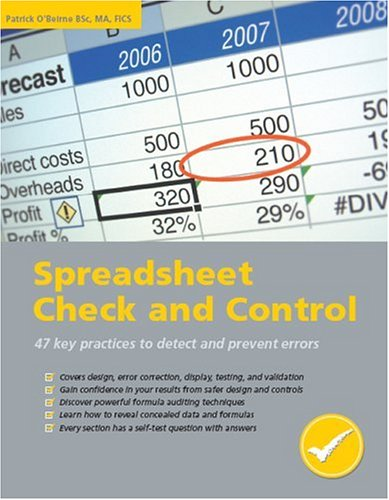 Spreadsheet Check and Control 9781905404001