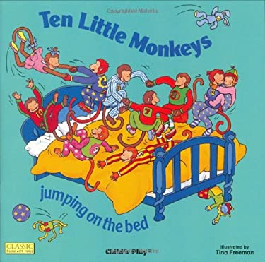 Ten Little Monkeys: Jumping on the Bed [With CD (Audio)] 9781904550679