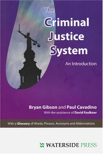 The Criminal Justice System: An Introduction 9781904380436