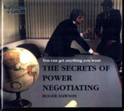 The Secrets of Power Negotiating 9781905953608