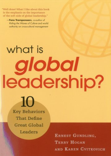 What Is Global Leadership: 10 Key Behaviors of Great Global Leaders 9781904838234