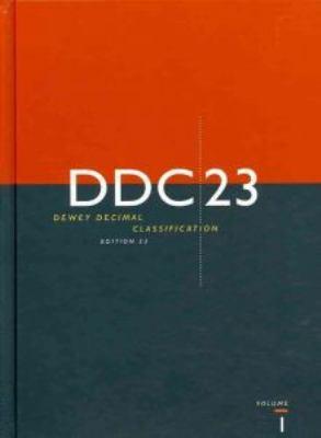 Dewey Decimal Classification, DDC 23 9781910608814