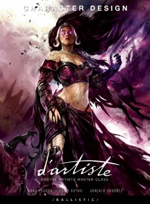 D'Artiste Character Design: Digital Artists Master Class 9781921002915