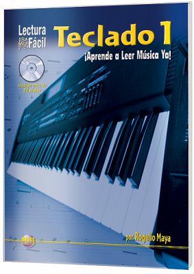 Lectura F CIL -- Teclado, Vol 1: Aprende a Leer M Sica YA! (Spanish Language Edition), Book & CD 9781928827597